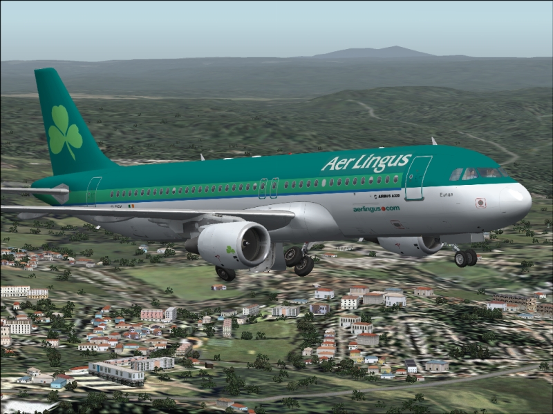 FSX Airbus A320-212 Aer Lingus Airlines