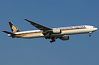 FS2004 Boeing 777-312/ER Singapour Airlines