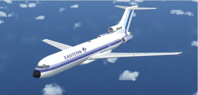 FSX acceleration of the Boeing 727-200