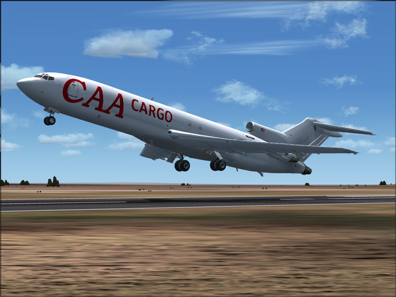 FSX FS2004 Boeing 727-200 CAA Compagnie Africaine d'Aviation