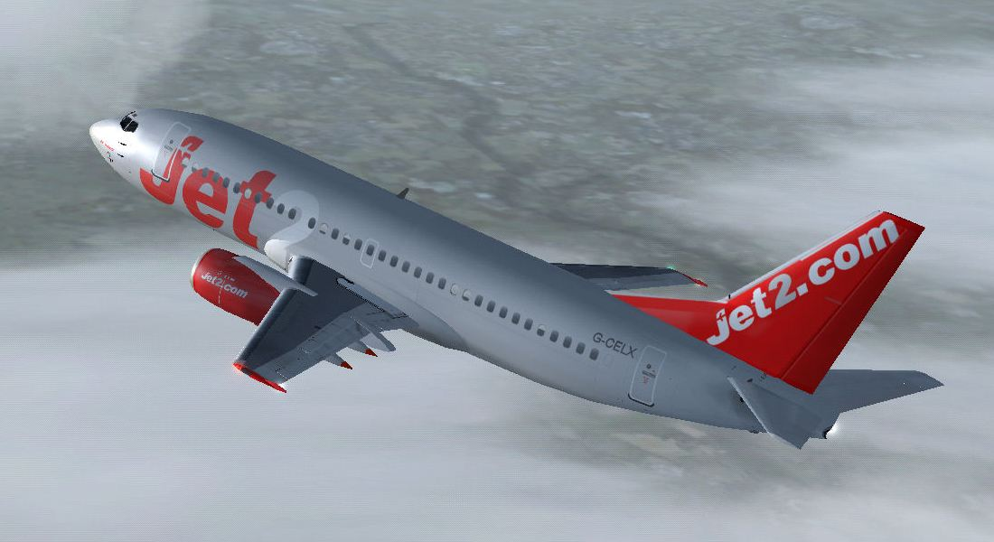 FSX Boeing 737-300 Jet Airlines
