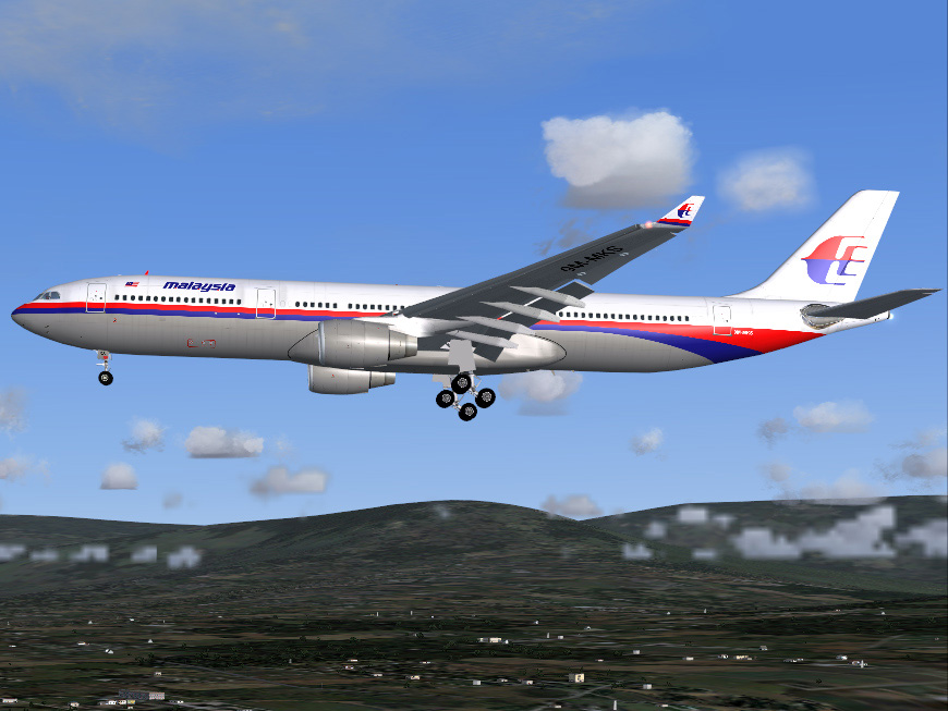 FS2004 Airbus A330-322 Malaysia Airlines 9M-MKS