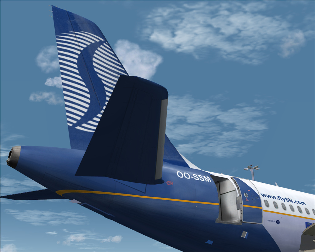 FSX Airbus A319 SN Brussels Airlines