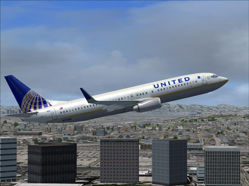FSX Boeing 737-800 United Airlines