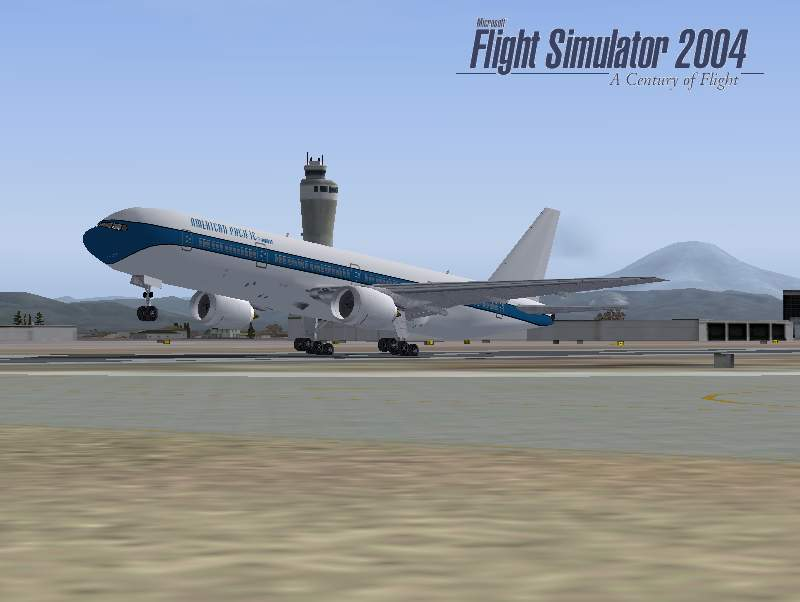 FS2004 Boeing 777-300 American Pacific Texture