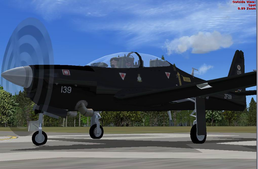FSX Shorts Tucano (RAF) from Simshed