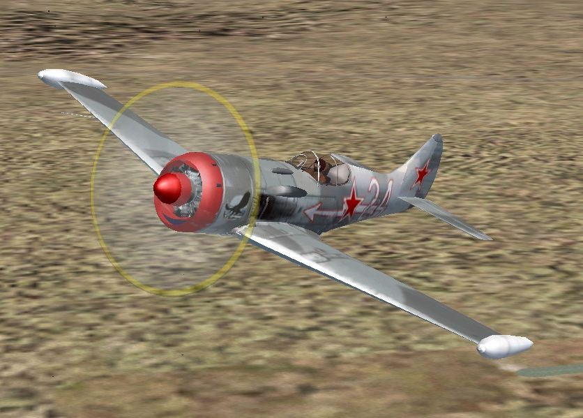 FS2004 FSX Lavochkin Lagg 11  The La-11 was developed from a long line of Lavochkin aircraft and first flew in 1944. It was an excellent front line fighter aircraft during the latter stages of WW2. Powered by a 1,850hp ASh-82FN radial engine it had a top speed of 420 mph at altitude. The La-11 was supplied in some numbers to both the Chinese and the North Korean air forces, and saw operational use during the Korean conflict. It was finally phased out of first line VVS service in the early 'fifties. The La-11 became the last generation of Soviet piston fighters — the jet age had begun. Complete plane by A.F. Scrub.