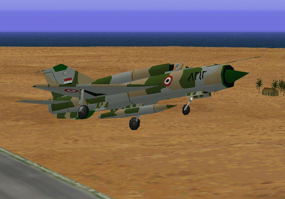CFS Mikoyan-Gurevich MiG 21 Fishbed