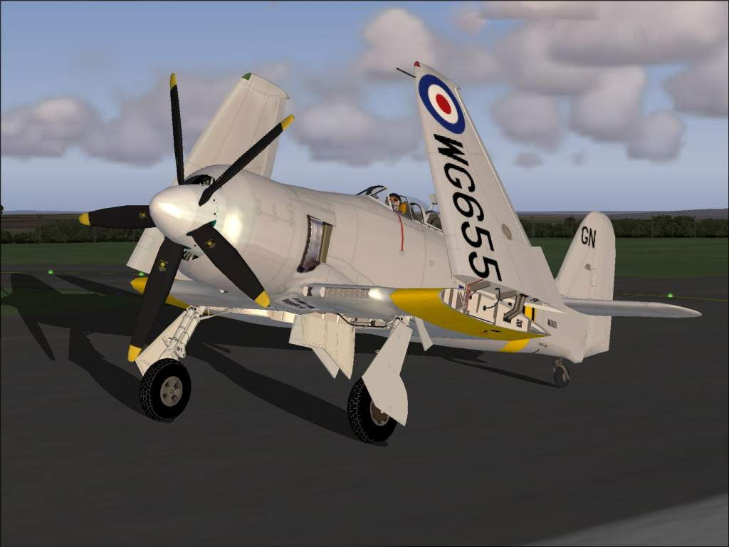 FS2004 Hawker Sea Fury T Mk20 Royal Navy