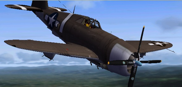 FSX P-47D Thunderbolt City of Garwood Textures