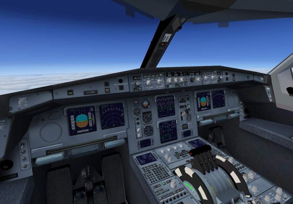 FSX Airbus A380-800 Austrian Airlines - Flight Simulator X