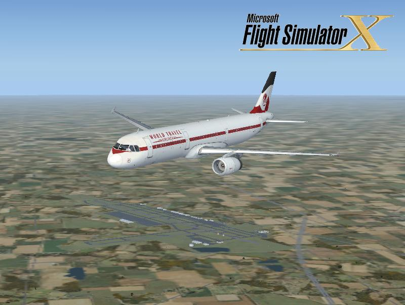 FSX Airbus A321 World Travel Airlines