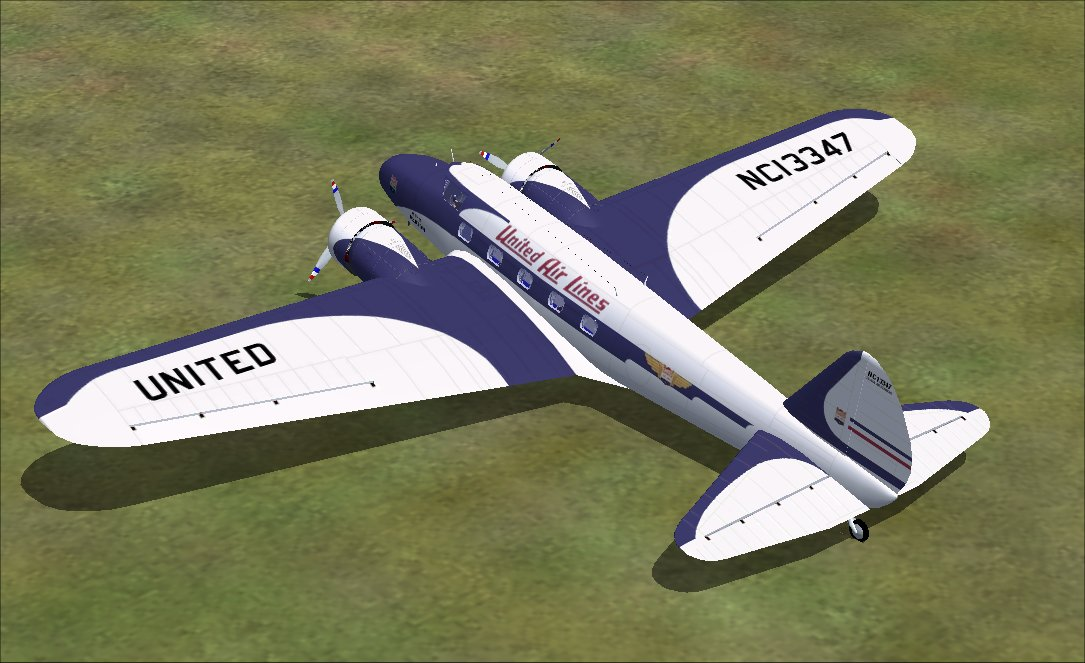 FSX and FS2004 Boeing 247 and 247D