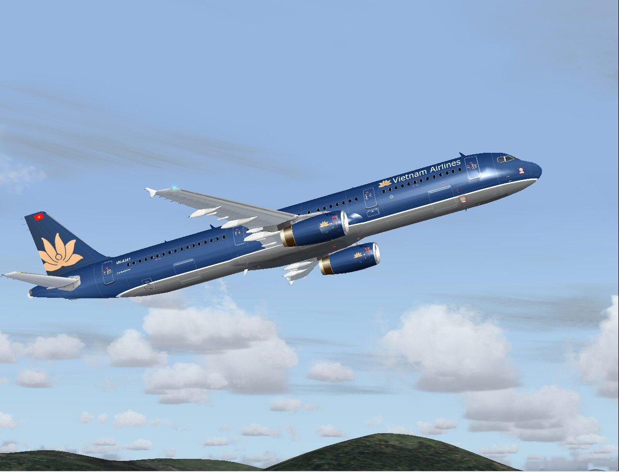 FS 2004 Airbus A321-231 Vietnam Airlines
