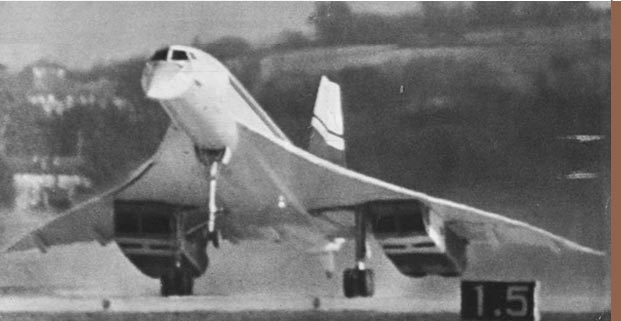 2 mars 1969, le vol inaugural de l'avion supersonique Concorde