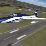 Hawker Hunter T 7 FSX