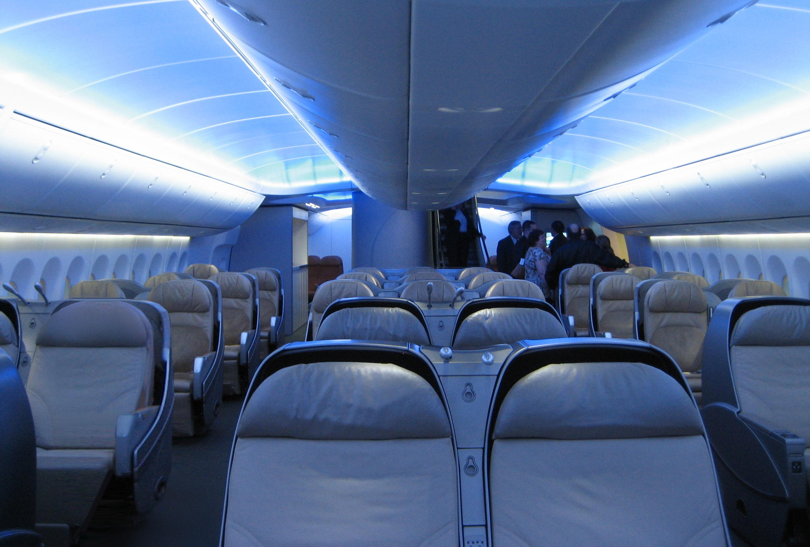 Endroits les plus sales dans l avion l o on ne le for Interieur avion