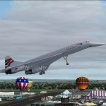 FS2004 FS2002 British Airways Concorde