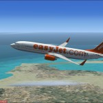FSX Boeing 737-800 of EasyJet airlines