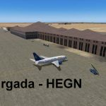 FS2004 scenery of Hurgada HEGN