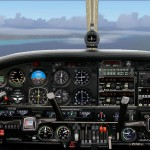 FS2004 photoreal Panel Piper PA 44