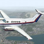 FSX/FS2004 Super King Air 300 N827CC