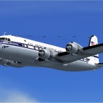 FSX and FS2004 Douglas DC-4 and C-54