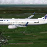 Fsx Boeing 737-800w United Continental Airlines