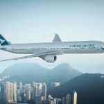 Cathay Pacific Boeing 777-300ER 2015 new livery B-KPL