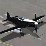 fsx p51d mustang Racing Colours