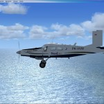 Un Pilatus PC-6C H2 Turbo Porter Susi Air Textures pour Flight Simulator X