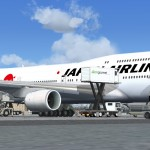 Un superbe Boeing 747-8i Japan Airlines (JAL) package pour FSX