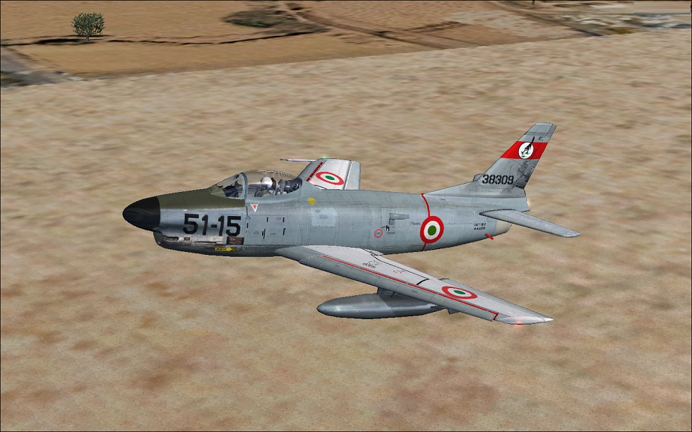FSX native North American F-86D