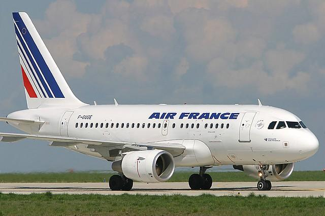Un A318 exploité par Air France